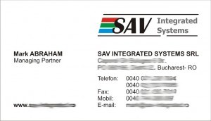 sav integrated systems